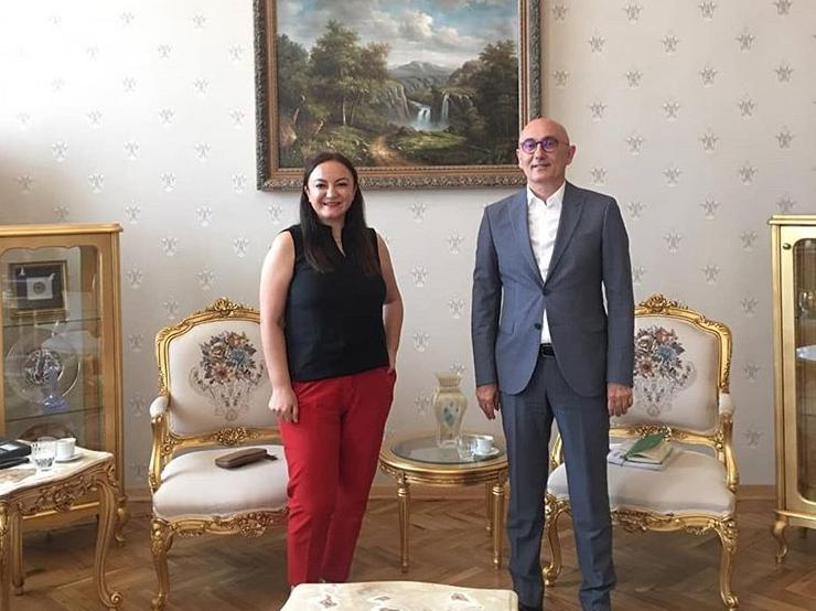 Yıldız Teknik Üniversitesi Rektörü Sayın Prof. Dr. Tamer Yılmaz ile görüşüldü.