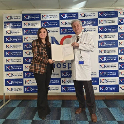 nlksoft, NCR İnternational Hastanesi ile bir protokol imzaladı.