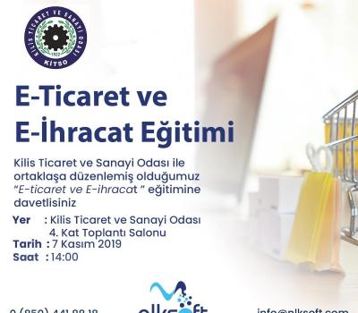 E-Ticaret ve E-İhracat Eğitimi