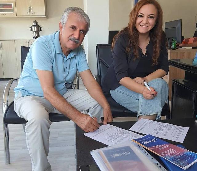 Güneydoğu Anadolu Gazeteciler Federasyonu Başkanı Sayın Mehmet Çelik ile Federasyon için indirim protokolü imzaladık