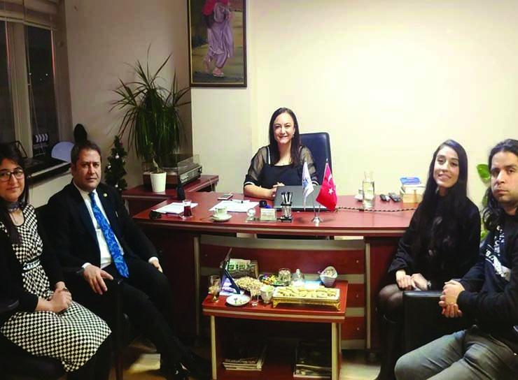 Gaziantep Milletvekili Sayın Ali Şahin nlksoft'u ziyaret etti.