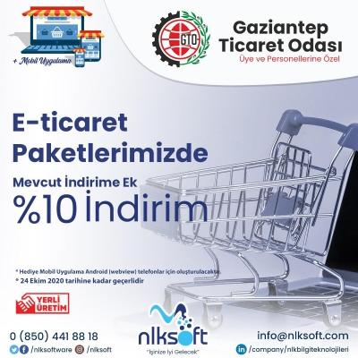 E-Ticaret Paketlerimizde Mevcut İndirime Ek %10 İndirim!