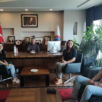 Tekirdağ Ticaret Ve Sanayi Odası Başkanlığı ziyaret edildi.