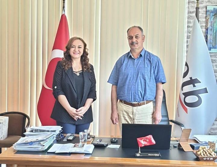 Osmaniye Ticaret Borsası ile görüşme ve planlamalarımızı yaptık.