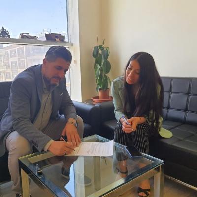 Muhtarlar Yardımlaşma ve Dayanışma derneği ile bir protokol imzaladık.